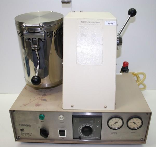 HERAEUS Vacuum-Druckgussgerät Combilabor CLG-77 M # 6804