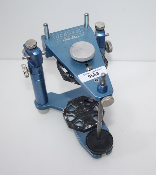 Artikulator TopDent Arti Star + Kunststoff-Montageplatten # 9668