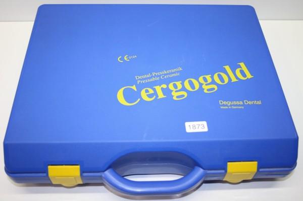 Degussa Dental-Presskeramik Cergogold # 1873