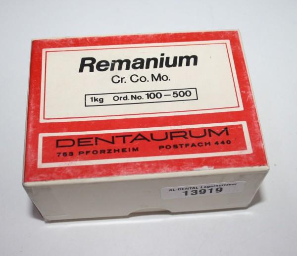 DENTAURUM Remanium Cr. Co. Mo. Aufbrennlegierung # 13919