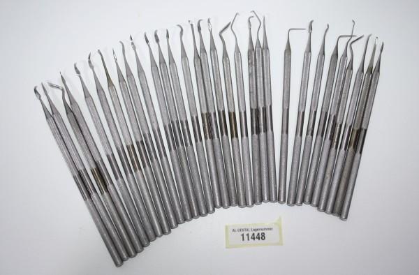 31 x diverse Füllinstrumente / Modellierinstrumente # 11448