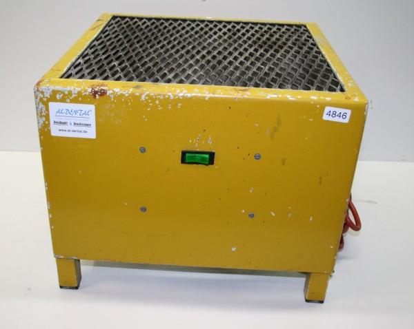 Muffelkühler / Tiegelkühler für Gießgeräte + Propeller # 4846