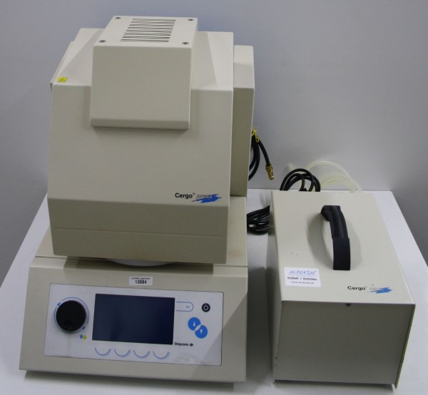 DEGUSSA Keramikpressofen Cergo press + Vakuumpumpe # 13084