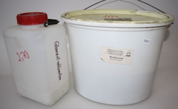Dentallabor-Restposten Strahlkorund Aluminiumoxyd - 18,7 kg - # 3957
