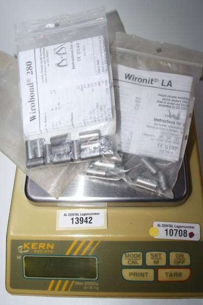 BEGO Dental-Legierungen WIROBOND 280, WIRONIT LA # 13942