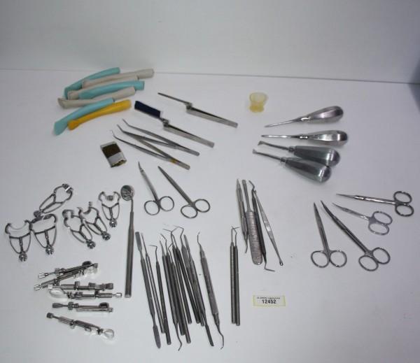 Diverse Zahnarzt Bestecke/Instrumente #12452