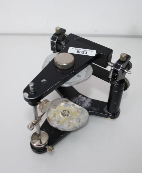 Artikulator Rational 25° + 2 Sockelplatten # 8633