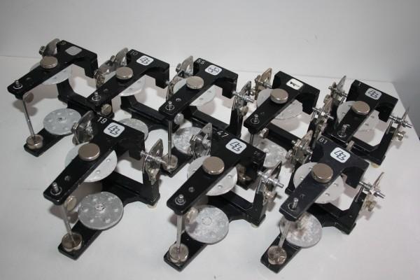 5 x LZ / BAYER / HERAEUS CONTAC Artikulatoren