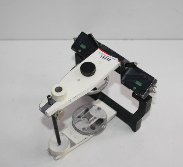 AMANN GIRRBACH Artex Arcon Artikulator Typ AS + Metall-Modellteller # 13398
