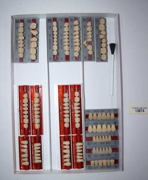 Zahngarnituren / Reparaturzähne namhafter Hersteller # 13874