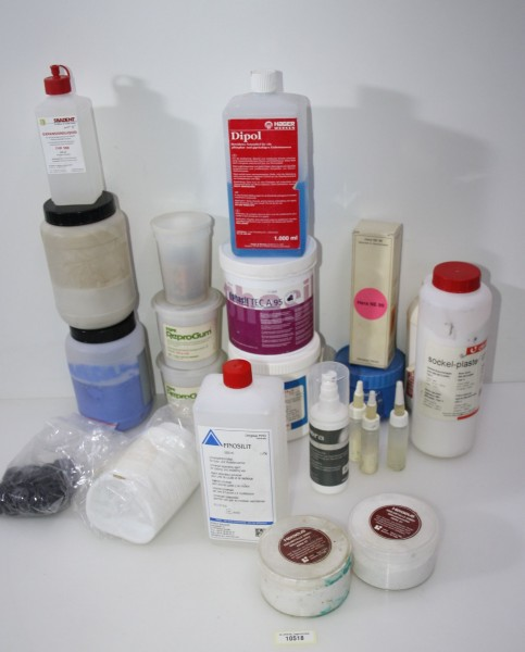 Dentallabor-Restposten diverse Verbrauchsmaterialien # 10518
