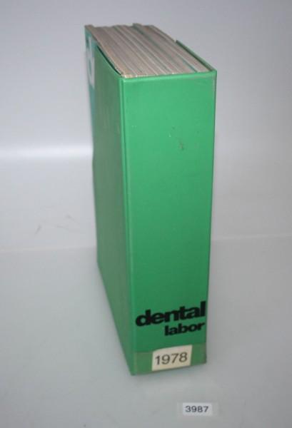 """Zeitschrift """"Das Dentallabor 26. Jahrgang - Jahr 1978 # 3987"""