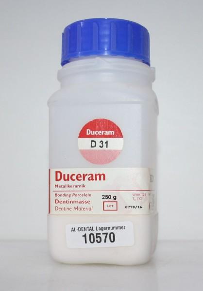 DUCERAM Metallkeramik / Dentinmasse D 31 # 10570