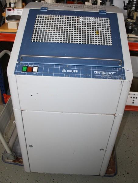 KRUPP Flammenguß-Schleuder / Gußgerät Typ Centrocast # 9478