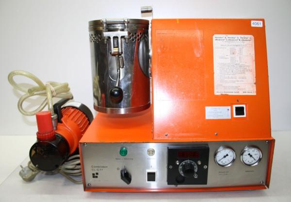 Vacuum-Druckgussgerät Combilabor CL-G 77 + Vakuumpumpe # 4061
