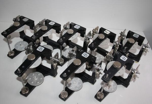7 x LZ / BAYER / HERAEUS CONTAC Artikulatoren