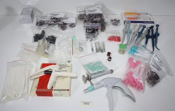 Zahnarztpraxis Restposten diverse Verbrauchsmaterialien # 11613
