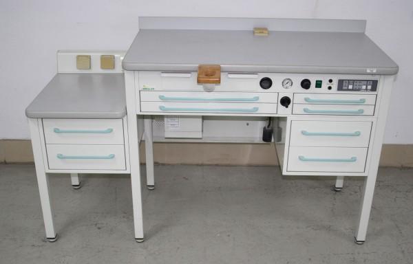 DENTAL ART Einzelarbeitsplatz / Labortisch # 7882
