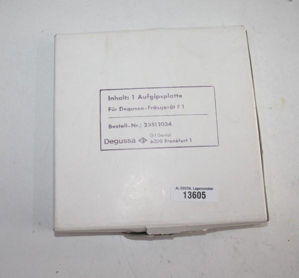DEGUSSA Aufgipsplatte - neu # 13605