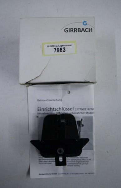 GIRRBACH Splitex Einrichtschlüssel # 7983