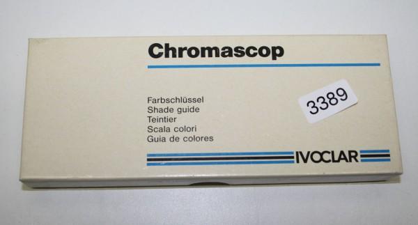 IVOCLAR VIVADENT Chromascop Farbschlüssel # 3389