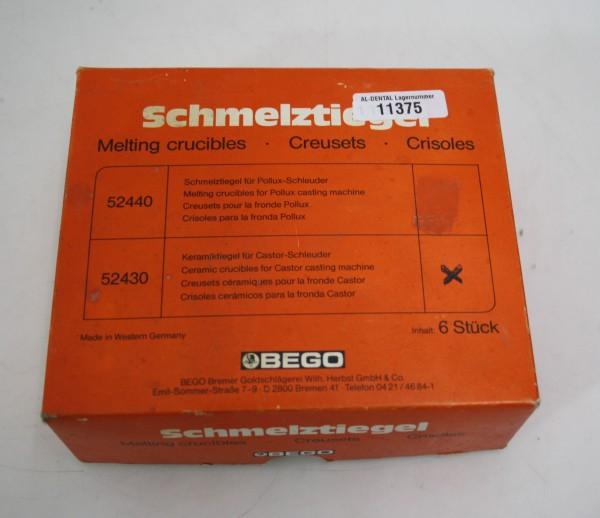 BEGO Schmelztiegel für Castor-Schleuder # 11375