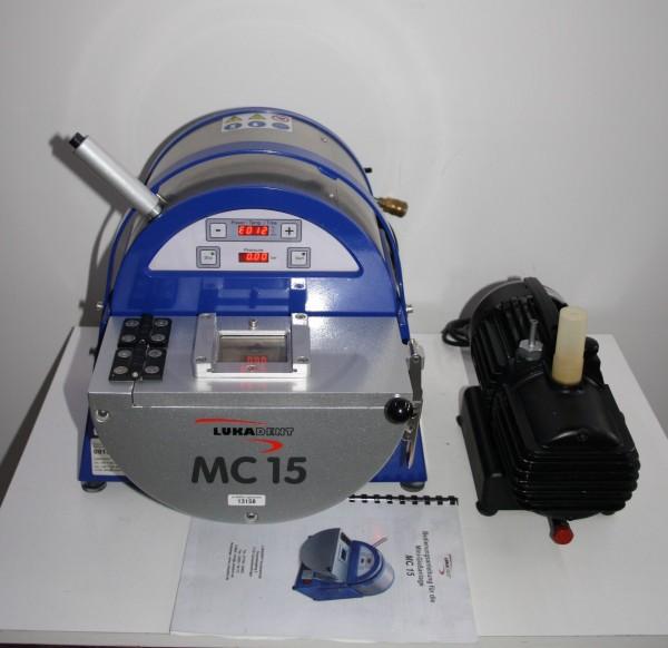 LUKADENT Vakuumdruckgußgerät / Mini-Gießanlage Typ MC 15 # 13158