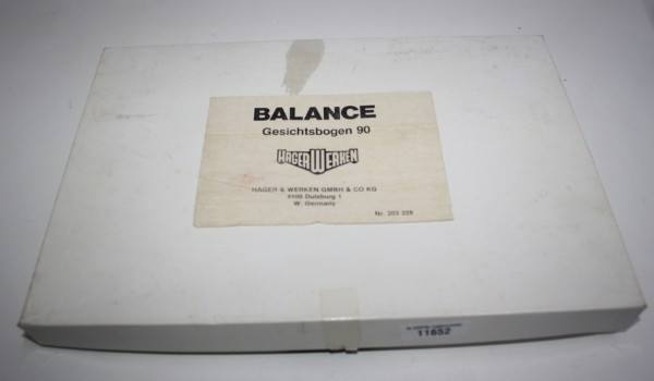 Hager & Werken Balance Gesichtsbogen 90 # 11652