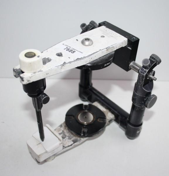 Girrbach Artex Artikulator NK hoch + Baumann/Adesso-Montageplatten # 7688