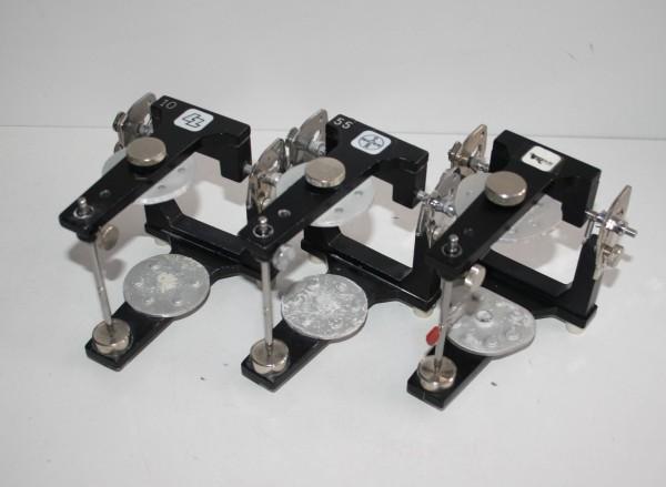 3 x LZ / BAYER / HERAEUS CONTAC Artikulatoren