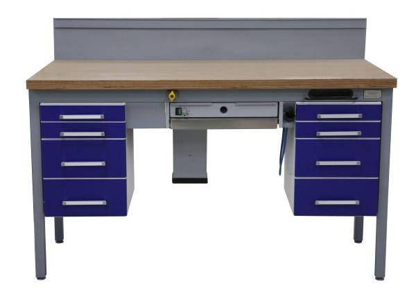 KaVo Einzel-Arbeitsplatz Techniktisch Labortisch Labormöbel - blau