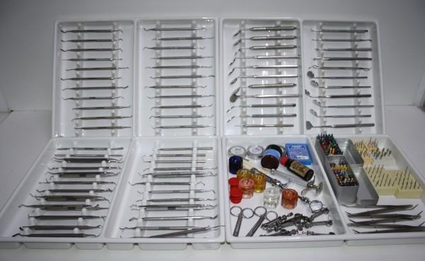 Zahnarztpraxis-Restposten diverse Handinstrumente # 12387