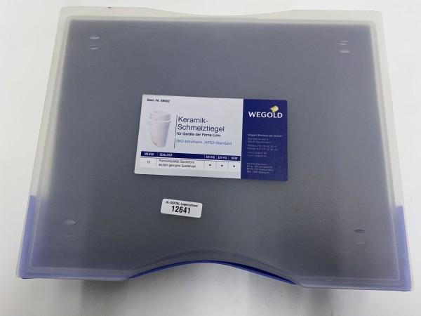 WEGOLD Keramik-Schmelztiegel für Linn-Geräte # 12641