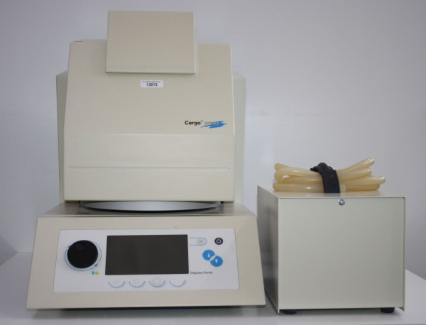 DEGUSSA Keramikpressofen Cergo press + Vakuumpumpe # 13015