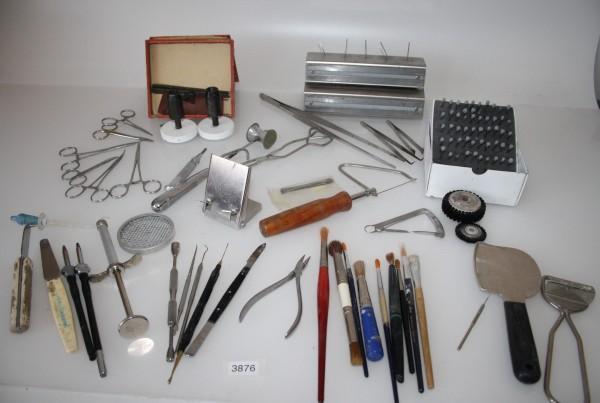 Dentallabor-Restposten Diverse Werkzeuge für die Dentaltechnik # 3876