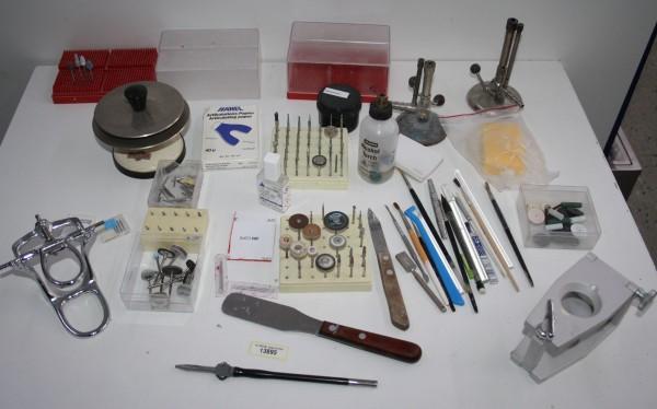 Dentallabor-Restposten diverse Werkzeuge # 13895