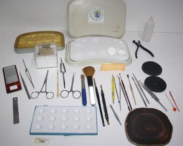 Dentallabor-Restposten Keramikequipment / diverse Werkzeuge # 7409