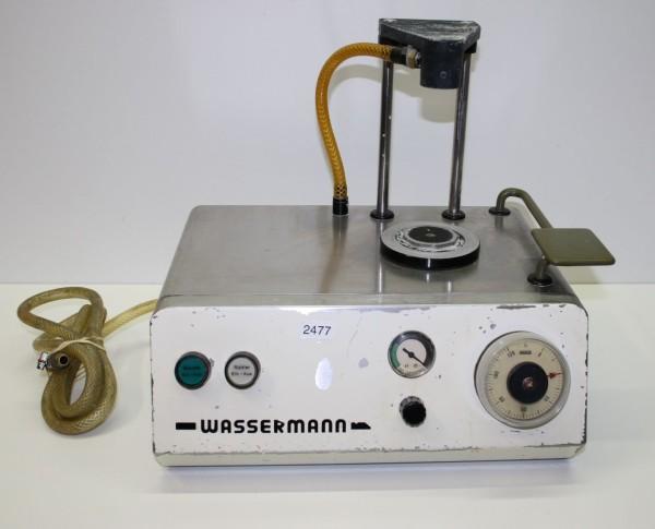 Vakuumanmischgerät Wassermann Typ Wamix # 2477