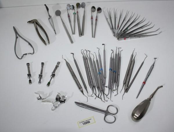 Zahnarztpraxis Restposten diverse Instrumente, Zangen etc. # 10996