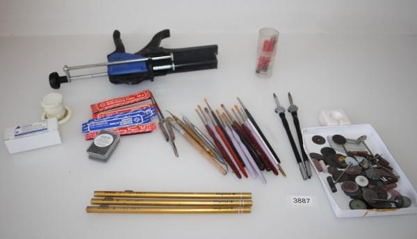 Dentallabor-Restposten Diverse Gebrauchsmaterialien # 3887