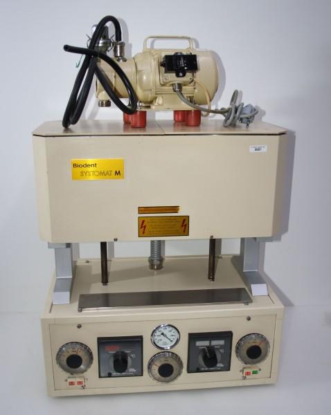BIODENT Keramikofen Typ SYSTOMAT M + Vakuumpumpe # 9887
