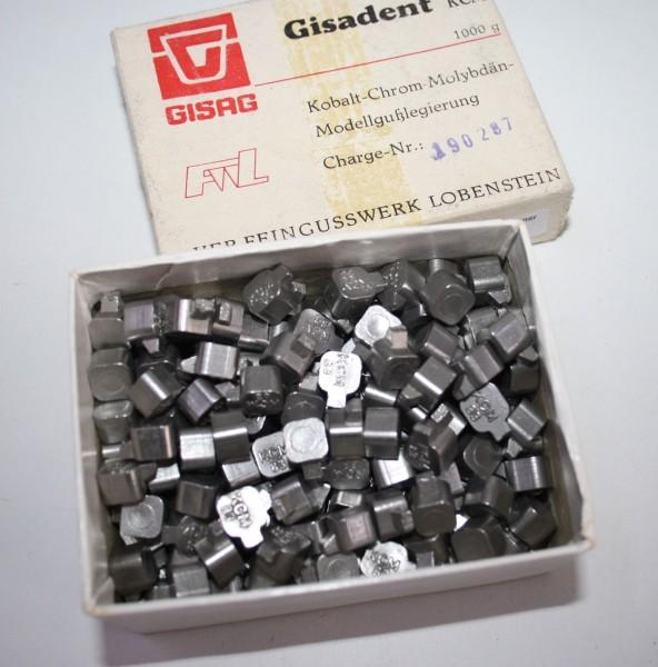 Gisadent KCM Kobalt- Chrom- Molybdän- Modellgußlegierung # 13915