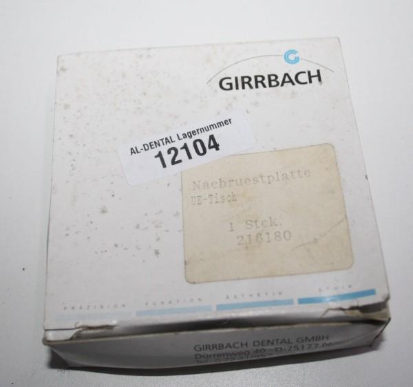 GIRRBACH Bicast-Nachrüstplatte für Übertragungstisch # 12104