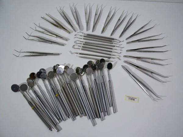 Diverse Zahnarzt-Bestecke / Handinstrumente # 11516