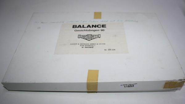 Hager & Werken Balance Gesichtsbogen 90 # 11653