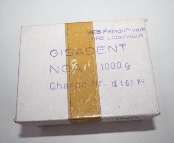Gisadent NCA Nickel Chrom Alloy Modellgußlegierung # 13917