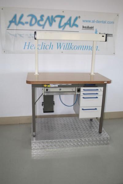 KaVo Dentallabor-Einzel-Arbeitsplatz Techniktisch Labortisch Labormöbel #6912