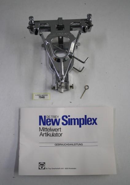 DeTrey Artikulator Typ Simplex - OVP # 7946