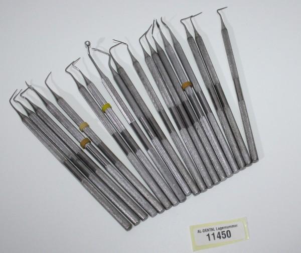 19 x diverse Füllinstrumente / Modellierinstrumente # 11450