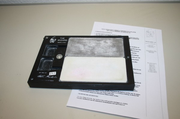 Permanent Oberflächenfeuchte Platte / Anmischplatte # 217